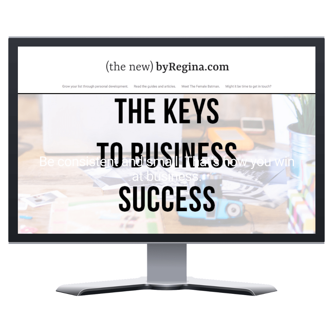 The Keys to Business Success - inspirational article