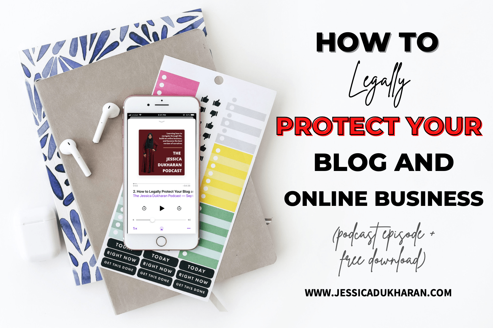 How to Legally Protect Your Blog and Online Business