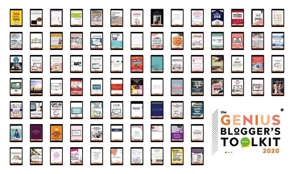 The Genius Blogger's Toolkit 2020 Full Bundle Image